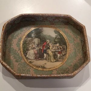 Vintage Baroque Vanity Tray Marie Antionette Style